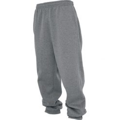 Urban Classics Sweatpants Spodnie dresowe szary. Niebieskie spodnie dresowe męskie marki Urban Classics, l, z okrągłym kołnierzem. Za 144,90 zł.