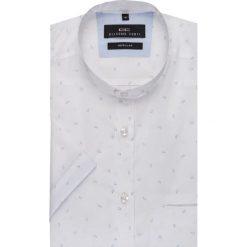 Koszula SIMONE KKBR000002. Brązowe koszule męskie na spinki marki QUECHUA, m, z elastanu, z krótkim rękawem. Za 199,00 zł.
