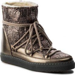 Buty zimowe damskie: Buty INUIKII - Sneaker Wedge Galway 30105 Gold