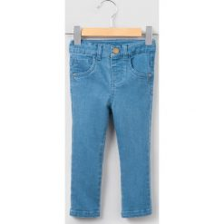 Jeansy slim 1 miesiąc - 3 lata. Niebieskie jeansy dziewczęce La Redoute Collections, z bawełny, z standardowym stanem. Za 50,36 zł.
