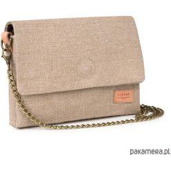 Mała torebka z worka lnianego. Różowe torebki klasyczne damskie Pakamera, małe. Za 129,00 zł.
