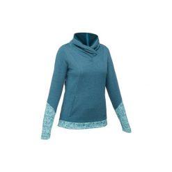 Sweter turystyczny NH500 damski. Czerwone swetry klasyczne damskie marki QUECHUA, xl, z bawełny. Za 69,99 zł.