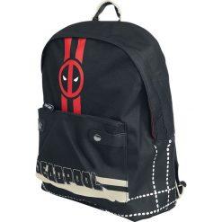 Deadpool Logo Plecak czarny. Czarne plecaki męskie Deadpool. Za 164,90 zł.