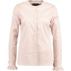Mos Mosh MATTIE SHIRT Koszula light rose. Czerwone bluzki damskie Mos Mosh, s, z bawełny. Za 519,00 zł.