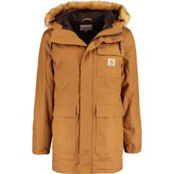 Carhartt WIP SIBERIAN DEARBORN Płaszcz zimowy hamilton brown. Brązowe płaszcze zimowe męskie marki Carhartt WIP, m, z bawełny. W wyprzedaży za 818,30 zł.