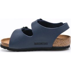 Birkenstock - Sandały dziecięce Roma. Szare sandały chłopięce marki Birkenstock, z materiału, na klamry. W wyprzedaży za 159,90 zł.