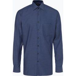 Andrew James - Koszula męska niewymagająca prasowania, niebieski. Niebieskie koszule męskie non-iron marki Andrew James, m, z bawełny, z klasycznym kołnierzykiem. Za 179,95 zł.