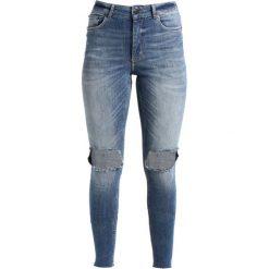 Cheap Monday HIGH SKIN PCW, CARE OFF C/O Jeans Skinny Fit cut blue. Niebieskie boyfriendy damskie Cheap Monday. W wyprzedaży za 149,50 zł.
