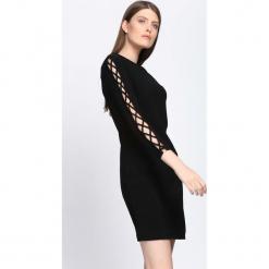 Czarna Sukienka Divergent. Czarne sukienki dzianinowe Born2be, na jesień, l. Za 59,99 zł.