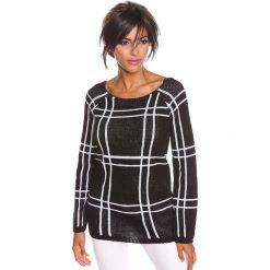 """Swetry klasyczne damskie: Sweter """"Thea"""" w kolorze czarnym"""