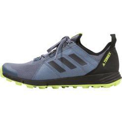 Adidas Performance TERREX AGRAVIC SPEED  Obuwie hikingowe dark blue. Niebieskie buty sportowe męskie adidas Performance, z materiału, outdoorowe. W wyprzedaży za 479,20 zł.