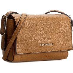 Torebka COCCINELLE - YV3 Minibag C5 YV3 15 C2 07 Cuoio 012. Brązowe listonoszki damskie marki Coccinelle. W wyprzedaży za 419,00 zł.