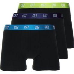 Cristiano Ronaldo CR7 SEASONAL BASIC TRUNK 3 PACK Panty black/neon green/petrol. Czarne slipy męskie Cristiano Ronaldo CR7, z bawełny. Za 129,00 zł.