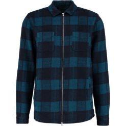 Koszule męskie na spinki: RVLT Koszula blue