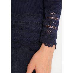 Bluzki asymetryczne: Rosemunde Bluzka z długim rękawem navy