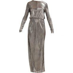 Długie sukienki: YAS YASEZRA SHINE Długa sukienka gold colour