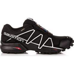 Salomon Buty męskie Speedcross 4 GTX Black/Black r. 44 (383181). Szare halówki męskie marki Salomon, z gore-texu, na sznurówki, outdoorowe, gore-tex. Za 699,00 zł.