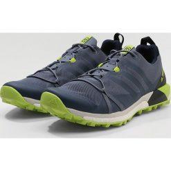 Adidas Performance TERREX AGRAVIC Obuwie do biegania Szlak dark blue/light green. Niebieskie buty do biegania męskie adidas Performance, z gumy. W wyprzedaży za 359,40 zł.