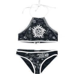 Supernatural Saving People, Hunting Things Bikini czarny. Czarne bikini Supernatural, z nadrukiem. Za 62,90 zł.
