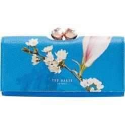 Ted Baker CARYL HARMONY BOBBLE MATINEE Portfel blue. Niebieskie portfele damskie marki Ted Baker. Za 479,00 zł.