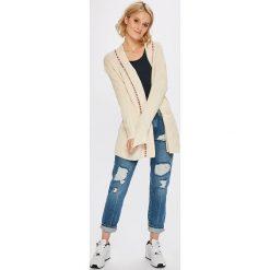 Pepe Jeans - Sweter. Szare kardigany damskie marki Pepe Jeans, l, z bawełny. W wyprzedaży za 299,90 zł.