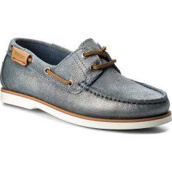 Mokasyny WRANGLER - Ocean WL181810 Jeans 118. Niebieskie mokasyny damskie marki Wrangler, z jeansu. W wyprzedaży za 199,00 zł.