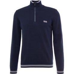 BOSS ATHLEISURE ZIMEX Sweter navy. Niebieskie swetry klasyczne męskie marki BOSS Athleisure, m. Za 579,00 zł.