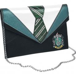 Harry Potter Danielle Nicole - Slytherin Torebka - Handbag czarny/zielony. Czarne torebki klasyczne damskie Harry Potter, z aplikacjami, z aplikacjami. Za 199,90 zł.