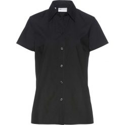 Bluzki asymetryczne: Bluzka z krótkim rękawem bonprix czarny