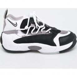 Nike Sportswear - Buty. Różowe buty sportowe damskie marki Nike Sportswear, l, z nylonu, z okrągłym kołnierzem. Za 589,90 zł.