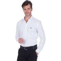 """Koszule męskie na spinki: Koszula """"Marker"""" w kolorze białym"""