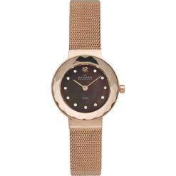 Zegarek SKAGEN - Leonora 456SRR1  Rose Gold/Rose Gold. Żółte zegarki damskie Skagen. Za 589,00 zł.