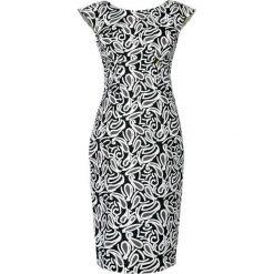 Sukienki hiszpanki: Sukienka w kolorze czarno-białym