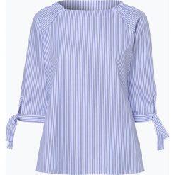Eterna Comfort Fit - Bluzka damska, niebieski. Niebieskie topy sportowe damskie Eterna Comfort Fit, w paski. Za 229,95 zł.