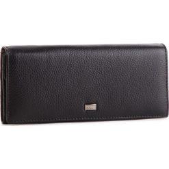 Duży Portfel Damski NOBO - NPUR-LG0140-C020 Czarny. Czarne portfele damskie marki Nobo, ze skóry. W wyprzedaży za 159,00 zł.