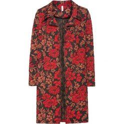 Płaszcz bonprix czerwony. Czerwone płaszcze damskie bonprix, z materiału, eleganckie. Za 179,99 zł.