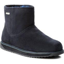 Buty EMU AUSTRALIA - Paterson Classic Mini W11619 Midnight. Szare buty zimowe damskie marki EMU Australia, z gumy. W wyprzedaży za 399,00 zł.