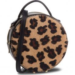 Torebka CREOLE - K10590 Czarny Cętki. Brązowe torebki klasyczne damskie Creole, z materiału. W wyprzedaży za 179,00 zł.