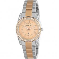 Zegarek kwarcowy w kolorze srebrno-różowozłotym. Szare, analogowe zegarki damskie Esprit Watches, ze stali. W wyprzedaży za 272,95 zł.