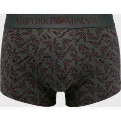 Emporio Armani - Bokserki. Czarne bokserki męskie Emporio Armani, z bawełny. W wyprzedaży za 139,90 zł.