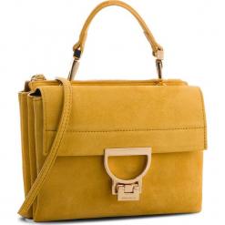 Torebka COCCINELLE - CD6 Arlettis Suede E1 CD6 55 B7 01 Spark J00. Żółte torebki klasyczne damskie marki Coccinelle, ze skóry, bez dodatków. W wyprzedaży za 799,00 zł.