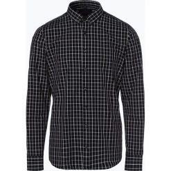 Mc Earl - Koszula męska, czarny. Czarne koszule męskie na spinki Mc Earl, m, z bawełny, z klasycznym kołnierzykiem. Za 69,95 zł.