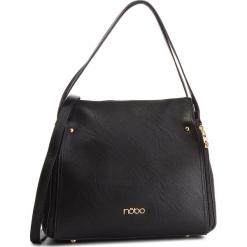 Torebka NOBO - NBAG-F0060-C020 Czarny. Czarne torebki klasyczne damskie marki Nobo, ze skóry ekologicznej. W wyprzedaży za 149,00 zł.