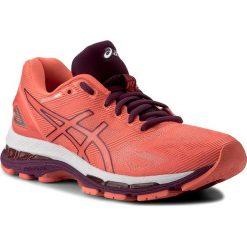 Buty ASICS - Gel-Nimbus 19 T750N Flash Coral/Dark Purple/White 0632. Brązowe buty do biegania damskie Asics, z materiału. W wyprzedaży za 509,00 zł.