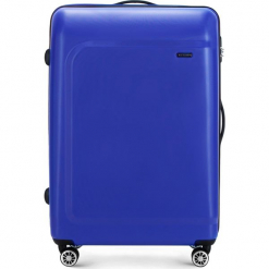 Walizka duża 56-3H-513-95. Czarne walizki marki Wittchen, z gumy, duże. Za 219,00 zł.