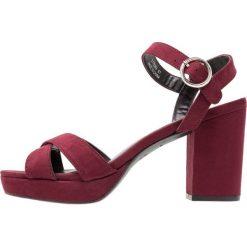Sandały damskie: New Look PUZZLE Sandały na obcasie dark red
