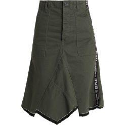 Replay SKIRT Spódnica trapezowa military. Zielone spódniczki trapezowe Replay, xs, z bawełny. Za 619,00 zł.