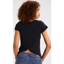 T-shirty damskie: Majestic Tshirt z nadrukiem noir