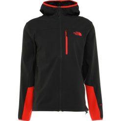 The North Face APEX NIMBLE HOODY Kurtka Softshell black/fiery red. Czarne kurtki sportowe męskie The North Face, m, z elastanu. Za 499,00 zł.