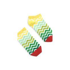 BananaSocks - stopki Green Stripes. Zielone skarpetki damskie marki Banana socks. Za 19,99 zł.